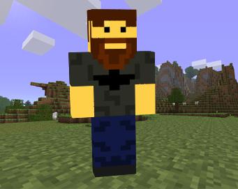 скачать скины для minecraft с бородой #10